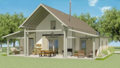 Plan 130009LLS: Exclusive Two Bedroom Bungalow with Loft
