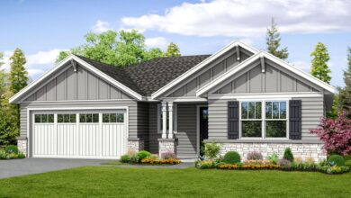 Plan 72873DA: Bungalow-Inspired Ranch House Plan with 3 Beds
