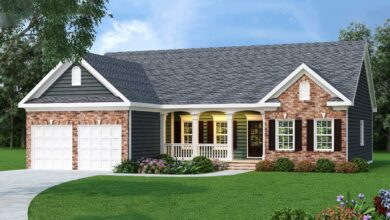 Plan 75512GB: Ranch Home Plan In 2 Exteriors