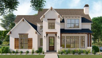 Plan 915041CHP: Exclusive Modern Farmhouse Plan with Main-Floor Master and Guest Suite