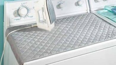 Portable Magnetic Folding Household Ironing Pad Mat