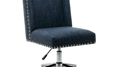Porthos Home Office Chair - Blue