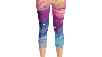Rainbow Leggings - M
