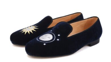 Remo Navy Moon Loafers - 10 US / 43 EU / NAVY