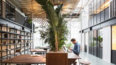 Renaissance Office: Fosbury & Sons Reinvents the Workspace in Antwerp | Yatzer