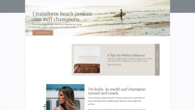 San Clemente (WordPress) Website Template | Davey  Krista