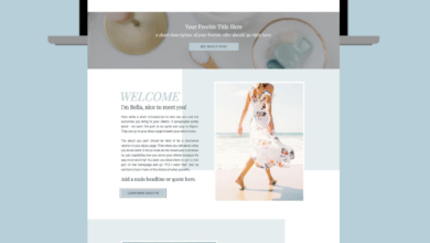 Showit Website Template for Coaches & Entrepreneurs