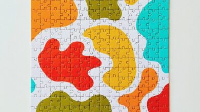 Silly Shapes Puzzle - 500 Piece