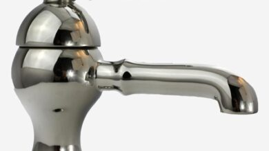 Soho Single Hole With Pop-up Drain Assembly Lever Handle Traditional Bathroom Faucet - Satin Nickel
