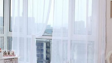 Solid Color Tulle Voile Door Window Wedding Comfortable Curtain Drape Panel - White