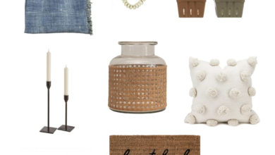 Spring Home Decor Letty Blu Collection