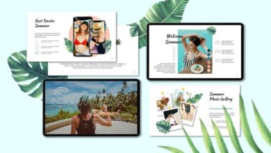 Summer Creative - Powerpoint