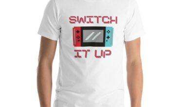 Switch It Up T-Shirt - White / M