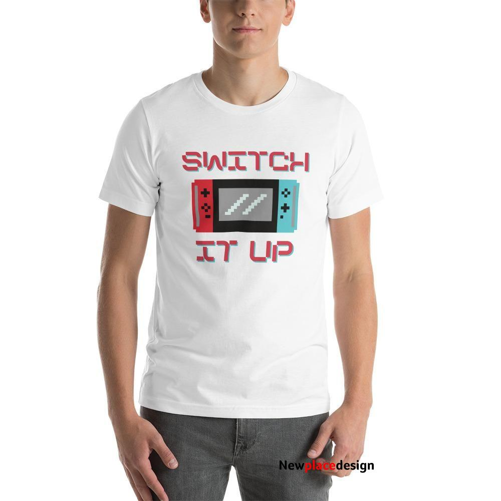 Switch It Up T-Shirt - White / XL
