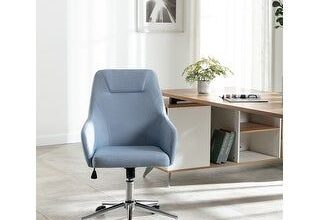 Swivel Homeoffice Highback Task Chair (Blue)