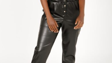 THE MIDNIGHT MOOD ROMPER IN UN-REAL LEATHER - XS