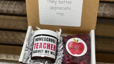 Teacher Gift Boxes - Planning Period