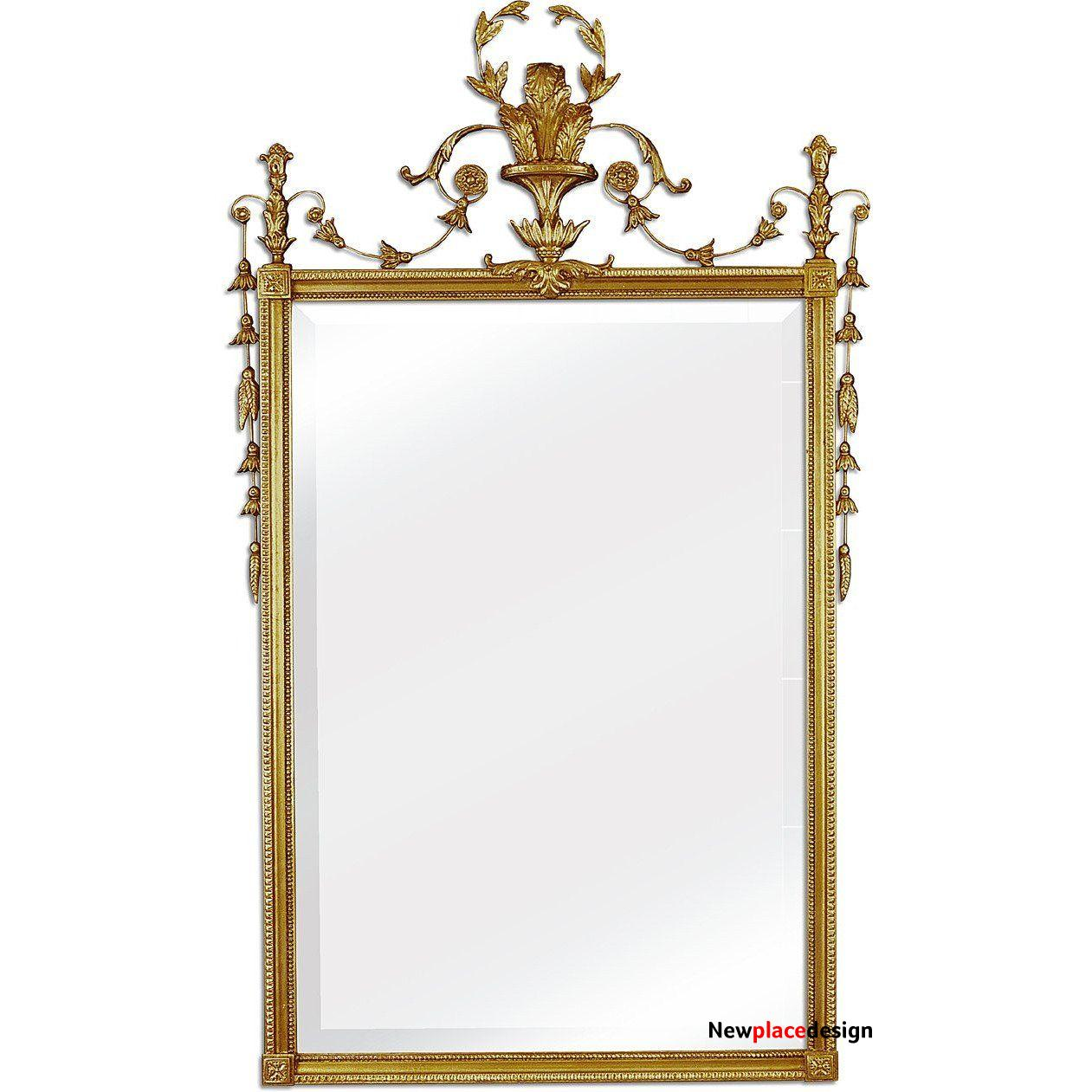 The Ardmore Accent Mirror by Friedman Brothers - M