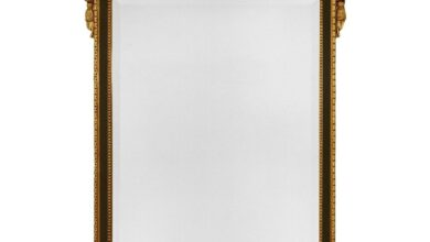 The Carlyle Accent Mirror by Friedman Brothers - L