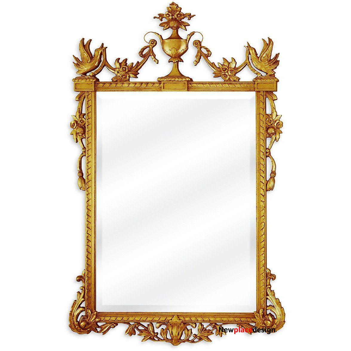 The Columbia Estate Accent Mirror by Friedman Brothers - M