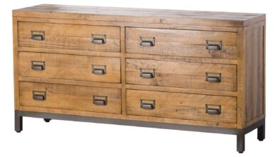 The Industrial Collection Six Drawer Chest