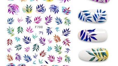 The New 3D Nail Sticker Cool - Nail Stickers - A140249