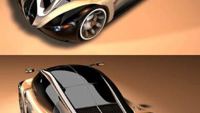 ♂ The Peugeot 4002 concept was designed by Stefan Schulze, the winner of an am...