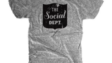 The Social Dept. Crest - mens grey / L