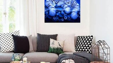 Two Tigers Butterfly DIY Resin Diamond Painting Unframed Home Decor Craft Gift - as the picture i