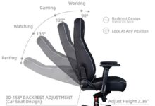 Victorage PU Leather Gaming & Office Chair (Black)