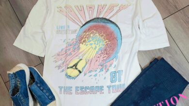Vintage Band Tees - XS / Journey