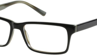 Viva VV0309 Eyeglasses For Men - 54-16-140 / B84 - Black