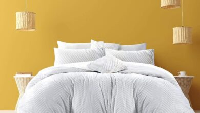 Westminster Collection Complete Textured Duvet Set - Classic White - Super King