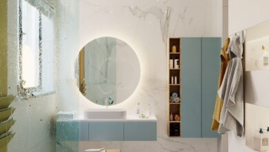 What Is Hot On Pinterest: Modern Bathroom Décor!