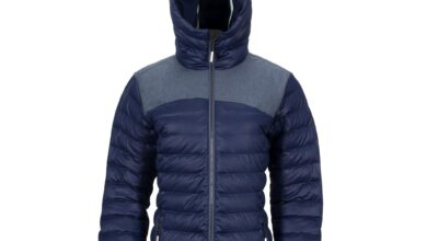 Women's Stretch Puffy Jacket - Navy / S