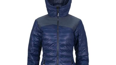 Women's Stretch Puffy Jacket - Twilight Blue - XS