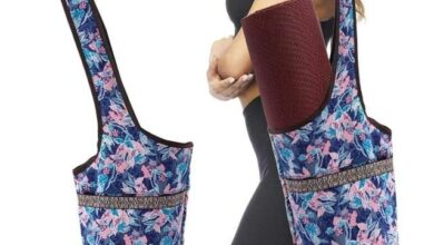 Yoga & Fitness Bag With a Style - Style-Flower