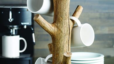 Yosemite Mug Tree by Texture Designideas